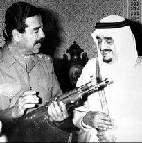 Image result for reagan and fahad